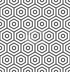 Find Hexagons Texture Seamless Geometric Pattern Vector stock images in HD and millions of other royalty-free stock photos, illustrations and vectors in the Shutterstock collection. Geometric Patterns, Geometric Mandala, Geometric Designs, Cool Patterns, Textures Patterns, Geometric Shapes, Geometric Tattoo Pattern, Hexagon Pattern, Honeycomb Pattern