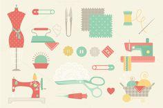 Sewing Machine Cartoon » Designtube - Creative Design Content