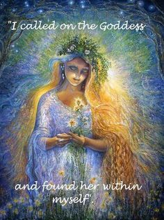 Call on the goddess within
