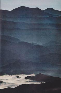 Color Azul Indigo - Indigo Blue!!! Sierra de San Borja, National Geographic, October 1972