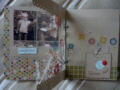 Un livre - Le blog de Tiss Mini Albums Scrap, Tampons, Blog, Moment, Thinking About You, Shape, Flowers