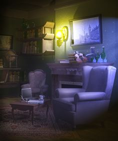 photoshop concept backgrounds interior digital maya environmental background animation fadeout crazy reference scenery 3d environment paisajes mood boards cartoon uploaded