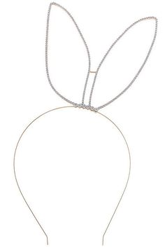 Bunny Ears, Bunny Ear Headband, Bunny head band, Bunny Costume, Crystal Bunny Ears, Ear Headband, Playboy Bunny, Bunny Costume, Halloween by Scarlettaa on Etsy