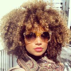 Natural Hair #shades