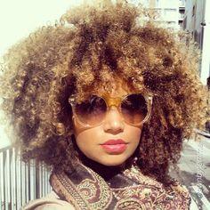Natural Hair #shades