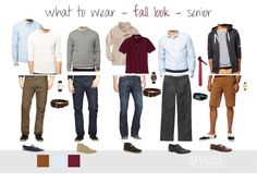 Fall Look - Senior Boys - Fashion avenue23photography.wordpress.com