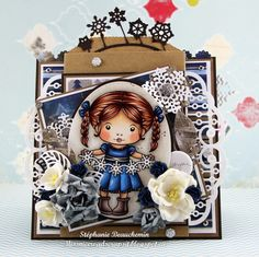 A World of Creative Possibilities: La-La Land Crafts : Card with a pocket inspiration!