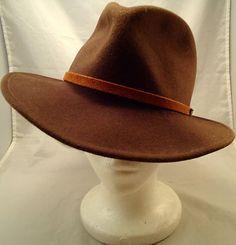 e9a0e76e0e4 EDDIE BAUER LITE FELT HAT IN SIZE LARGE 100% WOOL Felt Hat