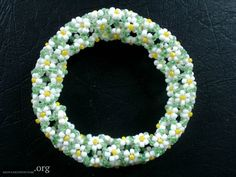 Piece of summer in the midst of spring - more daisy chain spirals