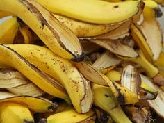 Try banana peels, stop wrinkles Skin aging? Try banana peels stop wrinkles Banana peel comes with loads of. Banana Peel Uses, Banana Peels, Banana Madura, Wrinkled Skin, Growing Roses, Home Remedies, Tricks, Healthy Life, Benefit