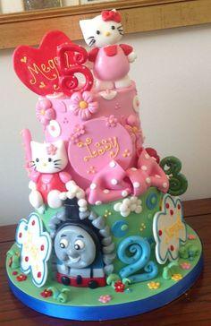 Hello kitty Cake from The Jolly Good Pud Company www.jollygoodpud.co.uk