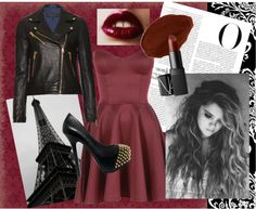 """""""Oxblood"""" by makenzieambrose on Polyvore"""