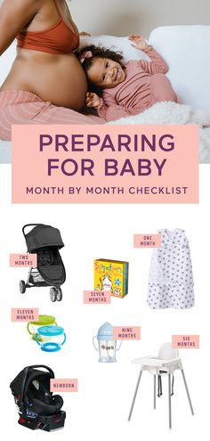 Check everything off your list of essentials before baby arrives. With our month-by-month checklist, you won't miss any must-haves! You can add anything to your registry with Babylist. Literally anything - even Etsy items, baby sitting, or home-cooked meals! It's easy, beautiful & free. Babylist works just like Pinterest. Simple enough for the grandparents-to-be too. Limited time offer: FREE* Hello Baby Box * With minimum of $10 purchase. Shipping & handling not included. Restrictions apply. Baby Baby Baby Oh, Mom Dad Baby, Baby Box, Baby Fever, Baby Necessities, Baby Essentials, Newborn Baby Tips, Baby Life Hacks, Baby Sitting