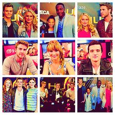 the Hunger Games cast :)