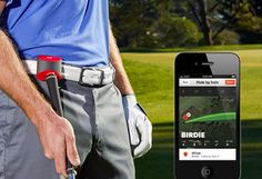 Modern golfers can now track their shots with this amazing GAME GOLF Digital Shot Tracking System. It will record all your stats shot by shot which will Golf Gadgets, Golf Books, Ladies Golf Bags, Golf Cart Accessories, Golf Training Aids, Golf Simulators, Public Golf Courses, Golf Shop, Golf Exercises