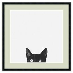 Framed Print: | Community Post: 20 Cat-Themed Items You Need For Your House Right Meow