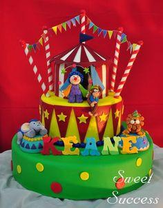 Circus Cake  Cake by SweetSuccess