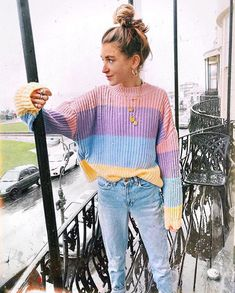 9df8aada7f Fashion Hit Color Women Sweater  fashion  clothing  shoes  accessories   womensclothing