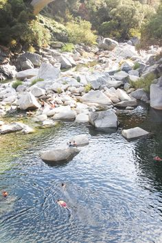 Daytrip: Swimming in South Yuba River (from Hither and Thither)