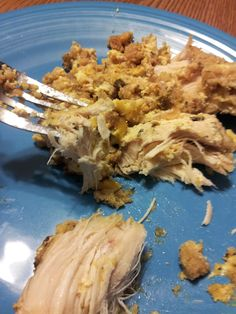 stuffing chicken