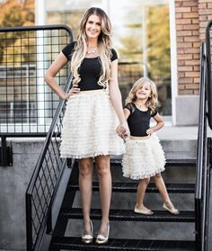 The Mommy and Me Bella Set, Skirts - Bliss Tulle
