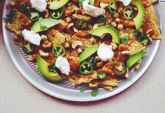 Masala isn't just for butter chicken anymore - try these Masala Chickpea Nachos for a simple and healthy snack!