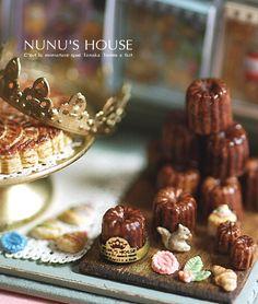 *カヌレ* - *Nunu's HouseのミニチュアBlog* 1/12サイズのミニチュアの食べ物、雑貨などの制作blogです。