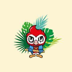 🦜 Good bird gone bad 😎⠀ Illustrations, Graphic Design, Bird, Color, Illustration, Birds, Colour, Visual Communication, Illustrators