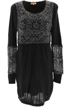 Sienna Crochet Dress - Look spectacular while remaining warm on a chilly winter's day with this stunning knit dress. This dress is simply perfect for any social event when teamed with leather shoes and handbag.