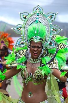 Different but very pretty for Trinidad Carnival