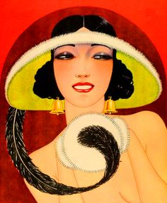 ART Deco lady...