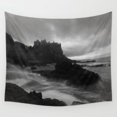 Evening at Dunluce Wall Tapestry