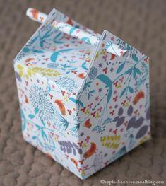 une adorable petite boîte