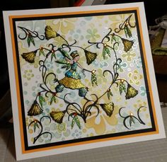beautiful work for a new lavinia stamps challenge about to start