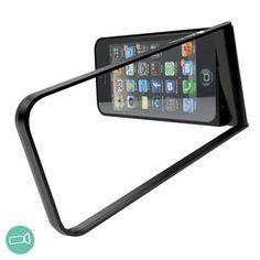 フリッツフレーム【fritzframe】ブラック - SPIKE フリッツフレームは、全く新しいオールインワンタイプのiPhone 5/5s専用のケースです。  二重構造の特殊なアルミフレームで構成され、アウターフレームが自由自在に可動しますので、iPhoneを縦横に立てたり、撮影時のスタビライザーとして、吊るすためのホルダーとしても使用できます。  ・撮影時のスタビライザーとして  ・iPhoneスタンドとして  ・三脚の代わりとして  ・iPhoneの保護として  ・ホルダーとして  ・その他、様々なシーンで役立ちます