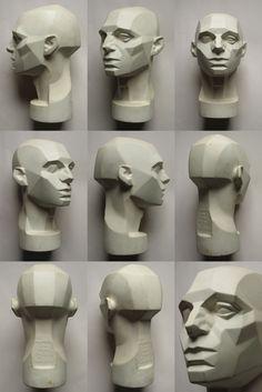 planes of the head via http://animationtidbits.tumblr.com/