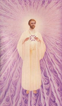 Saint Germain and the Violet Flame. I AM the Light of the heart... Saint Germain, Beautiful Artwork, Beautiful Pictures, Flame Art, The Violet, Ascended Masters, Hippie Gypsy, Angel Art, Saints