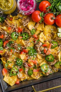 Slow Cooker Pork Carnitas are perfectly crispy on the outside with a juicy center. It's so easy to make authentic, restaurant quality Mexican pulled pork! Pork Recipes, Mexican Food Recipes, Chicken Recipes, Ethnic Recipes, Boneless Pork Roast, Mexican Pulled Pork, Garlic Butter Chicken, Shredded Pork, Slow Cooker Pork