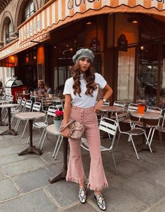 The resurrection of French berets: how to wear a beret - Outfit - Winter Mode Spring Summer Fashion, Spring Outfits, Trendy Outfits, Winter Fashion, Fashion Outfits, Fashion Trends, Fashion Styles, Beret Street Style, Barett Outfit