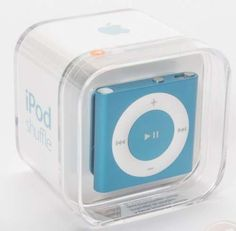 $78.99  APPLE iPOD SHUFFLE 4TH GENERATION 2GB BLUE W/ BONUS $20 iTUNES GIFT CARD NEW! #Apple