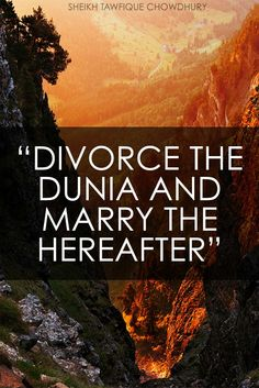 marry the hereafter