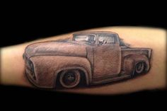 Hot Rod Car and Truck Tattoo 57