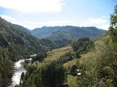 Valle de Liquiñe hacia el oriente