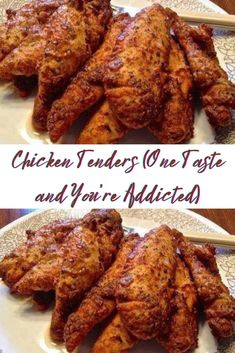 INGREDIENTS: SERVINGS 4 2 lbs chicken tenders 1 cup grated parmesan cheese 2 tablespoons dried parsley #recipe #chicken #easyrecipe #food Chicken Tenderloin Recipes, Chicken Tender Recipes, Chicken Parmesan Recipes, Entree Recipes, My Recipes, Healthy Recipes, Dinner Recipes, Favorite Recipes, Chicken Tenderloins