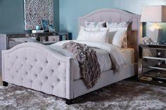 Bright + elegant bedroom inspiration.