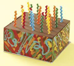 Candy Burst Chocolate Cake
