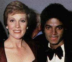 Michael Jackson and Julie Andrews