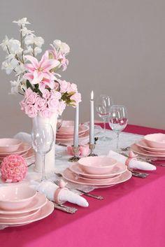 teiliges tafelservice ktahya in rosa pink kche kitchen - Kuche In Pink