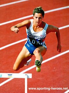 Sally Gunnell | Sally Gunnell - Great Britain - 1994 brings three Gold medals. OS guld 400 meter häck 1992 Barcelona.