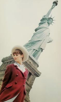 Jean Shrimpton for Glamour, 1963